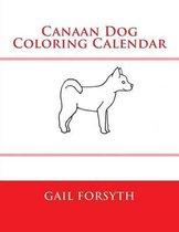 Canaan Dog Coloring Calendar