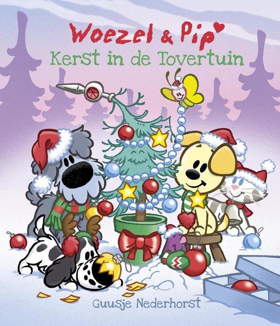 Boek cover Woezel & Pip - Kerst in de tovertuin van Guusje Nederhorst