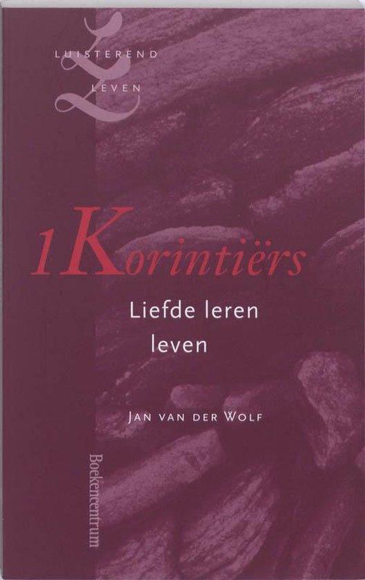 Cover van het boek '1 Korintiers' van J. van der Wolf
