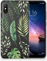 Xiaomi Redmi Note 6 Pro Uniek TPU Hoesje Leaves