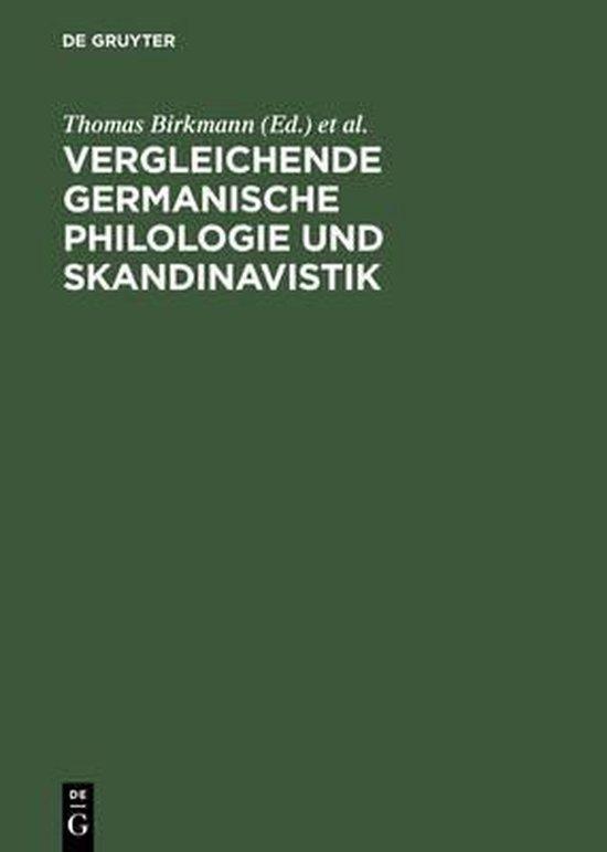 Boek cover Vergleichende Germanische Philologie und Skandinavistik van  (Hardcover)