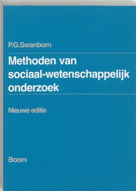 Methoden van sociaal-wetenschappelijk onderzoek / druk Nieuwe editie (5e dr) - Peter Swanborn |
