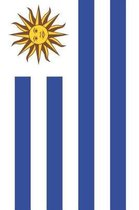 Uruguay Flag Notebook - Uruguayan Flag Book - Uruguay Travel Journal