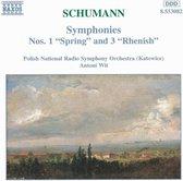 Schumann: Symphonies 1 & 3