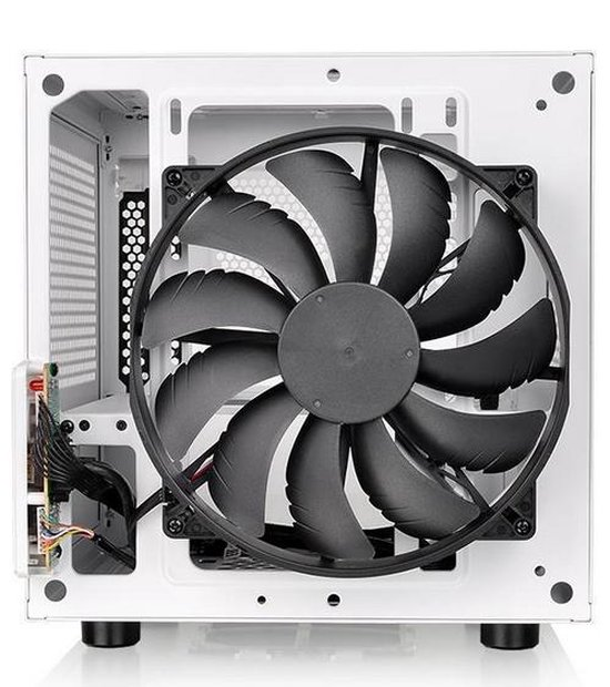 Thermaltake Core V1 Snow Edition kubus Wit