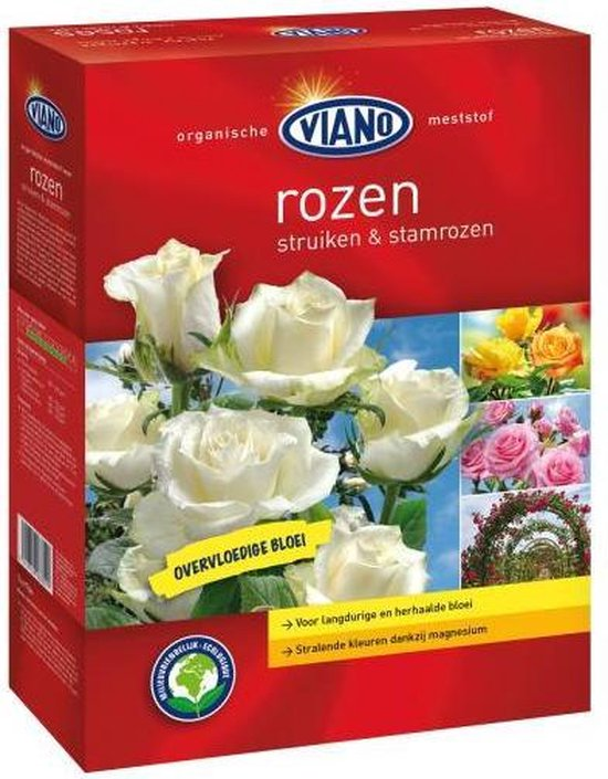 Viano Rozen meststof 1,75 kg - 2 stuks - overvloedige bloei