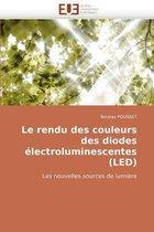 Le Rendu Des Couleurs Des Diodes �lectroluminescentes (Led)