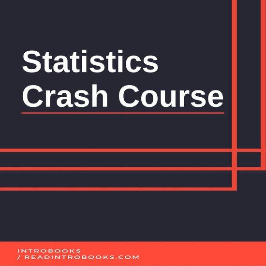 Boek cover Statistics Crash Course van Introbooks Team (Onbekend)