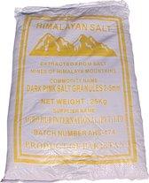Roze Himalaya Zout Grof (2-5mm) 25kg ✔Bulk Zak 25kg