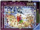 Ravensburger puzzel Santa's Christmas Party - Legpuzzel - 1000 stukjes