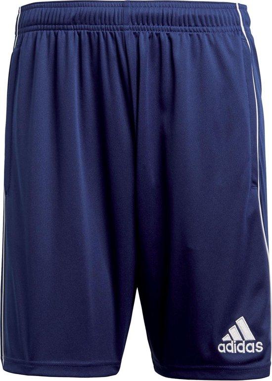 Adidas Core 18  Sportbroek Heren - Dark Blue/White - Maat L