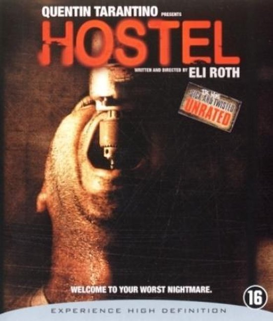 Cover van de film 'Hostel'