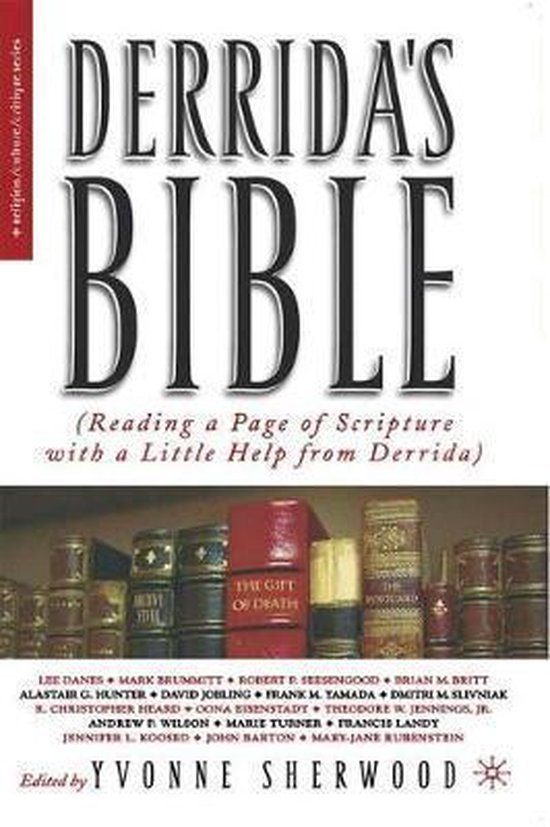 Boek cover Derridas Bible van Yvonne Shewood (Paperback)