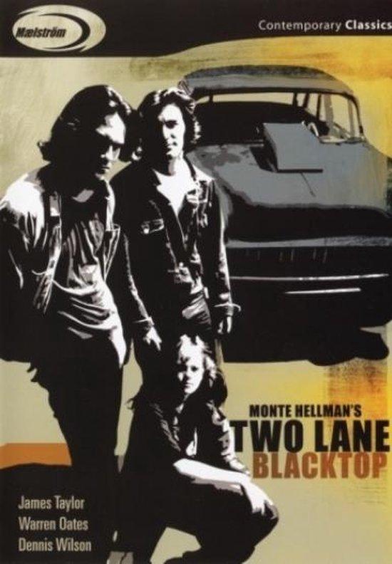 Cover van de film 'Two Lane Blacktop'