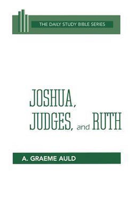 Boek cover Joshua Judges Ruth H/B Dsb van A. Graeme Auld (Hardcover)