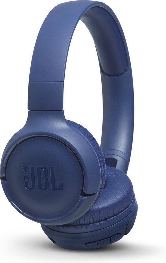 JBL T500BT Blauw - Draadloze on-ear koptelefoon