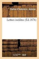 Lettres inedites