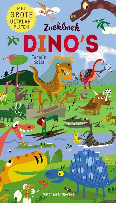 Zoekboek Dino's - Fermin Solis | Readingchampions.org.uk