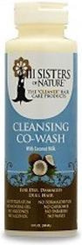 3 Sisters of Nature Cleansing Coconut Co-Wash 237 ml