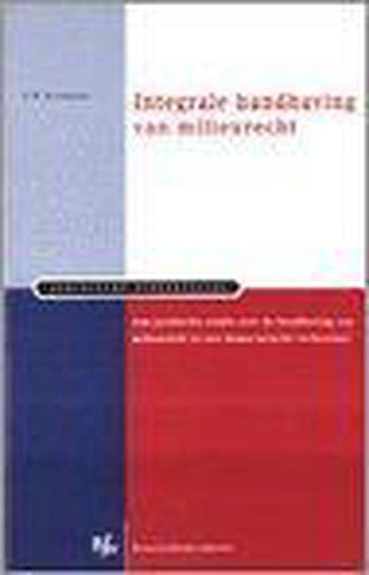 Integrale handhaving van milieurecht - A.B. Blomberg |