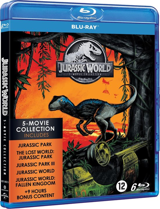 Jurassic Park - 1 t/m 5 Collection (Blu-ray)