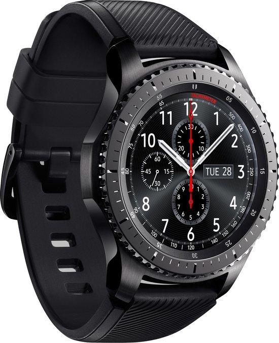 Samsung Gear S3 Frontier - Smartwatch - Zwart