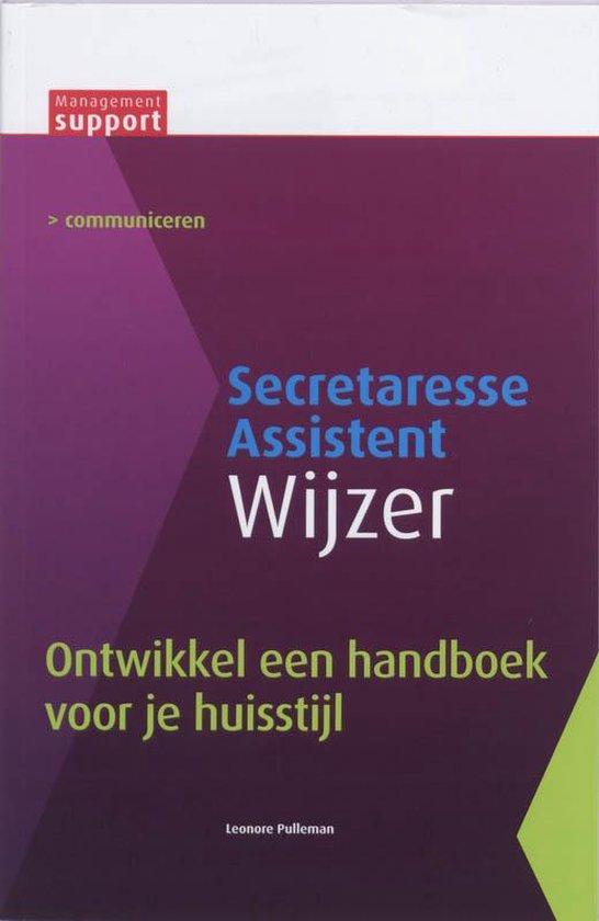 Secretaresse Assistant Wijzer - Ontwikkel een handboek voor je huisstijl - Leonore Pulleman | Fthsonline.com