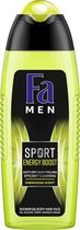 Fa Men Sport Double Power Power Boost Douchegel - 6x 250 ml - Voordeelverpakking
