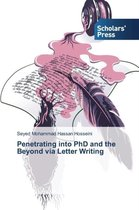 Penetrating into PhD and the Beyond via Letter Writing