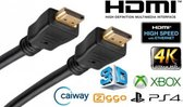 Afbeelding van HDMI Kabel - 5 meter - Zwart - High Speed (TV - PC - Laptop - Beamer - PS3 - PS4 - Xbox)