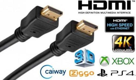 Afbeelding van HDMI Kabel - 5 meter - Zwart - High Speed (TV - PC - Laptop - Beamer - PS3 - PS4 - Xbox)