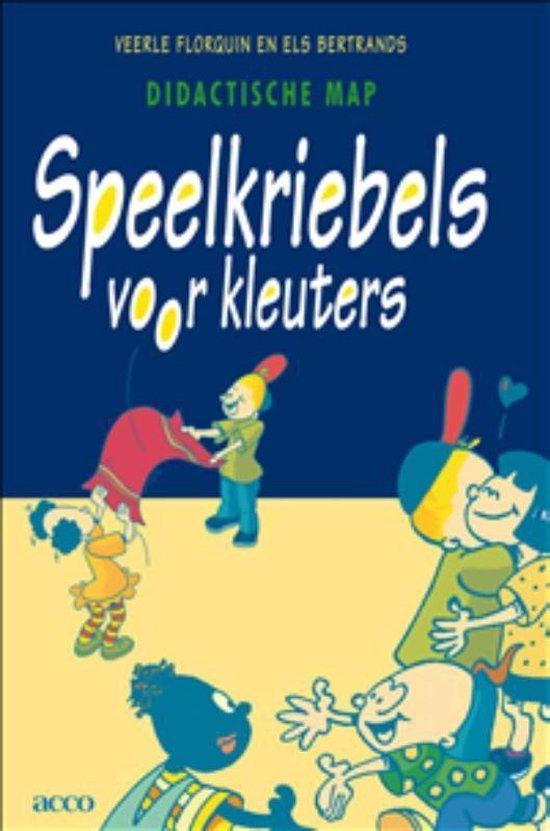 Cover van het boek 'Speelkriebels voor kleuters / druk 1'