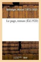 Le page, roman
