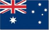 Vlag Australie 90 x 150 cm feestartikelen - Australie landen thema supporter/fan decoratie artikelen
