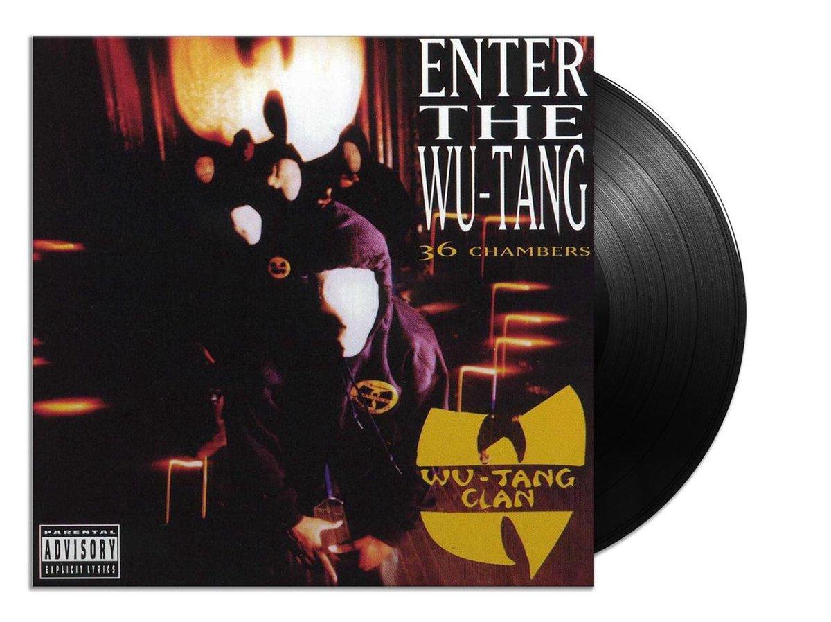 Enter the Wu-Tang Clan (36 Chambers) (LP) - Wu-Tang Clan