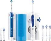 Oral-B PRO Oral Care Center: 2000 + Oxyjet Monddouche - Zwart