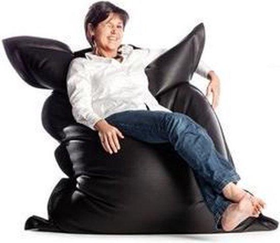Zitzak Sit Joy.Bol Com Zitzak Leatherlook Black 165x140 Sit On It And Joy