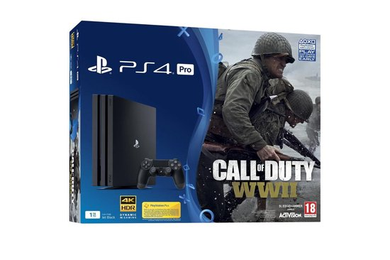 Sony PlayStation 4 Slim Call of Duty WWII Console - Limited Edition - Camo - 1 TB