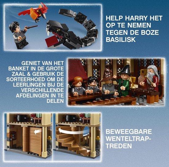 LEGO Harry Potter De Grote Zaal van Zweinstein - 75954
