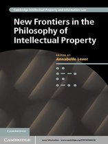 Omslag New Frontiers in the Philosophy of Intellectual Property