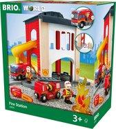 Afbeelding van BRIO Grote brandweerkazerne - 33833 speelgoed