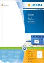 Herma Labels white 200x297 SuperPrint 100 pcs.
