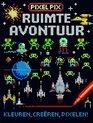 Afbeelding van het spelletje Kinderboeken Icob Ruimte - Pixel Pix: Ruimteavontuur. 6+