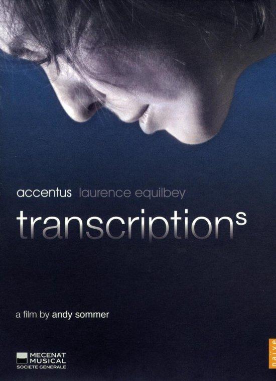 Cover van de film 'Accentus - Transcriptions'