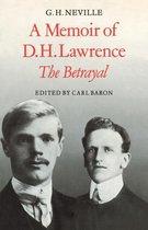 Boek cover A Memoir of D. H. Lawrence van Baron, Carl