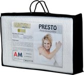 AM Products - Talalay Presto - Latex - Hoofdkussen - Wit - Soft - 10cm