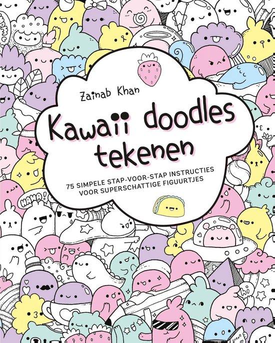 Boek cover Kawaii doodles tekenen van Zainab Khan (Paperback)
