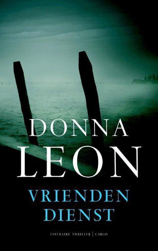 Vriendendienst - Donna Leon |