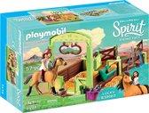 PLAYMOBIL Spirit Lucky & Spirit met paardenbox - 9478