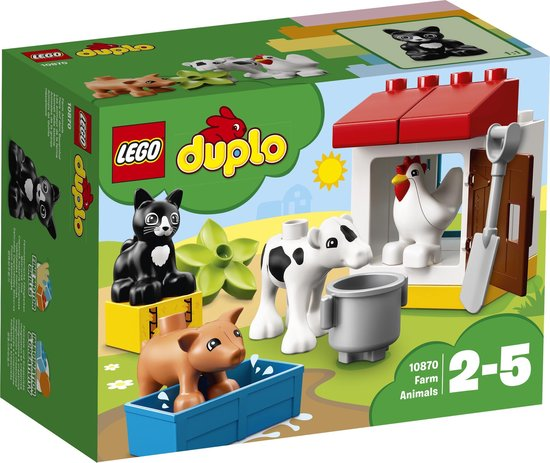 Afbeelding van LEGO DUPLO Boerderijdieren - 10870 speelgoed